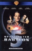 Babylon 5: Thirdspace - German VHS movie cover (xs thumbnail)