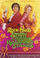 Austin Powers: The Spy Who Shagged Me - German Movie Poster (xs thumbnail)