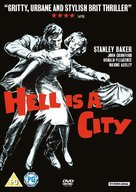 Hell Is a City - British DVD cover (xs thumbnail)