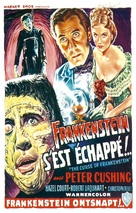 The Curse of Frankenstein - Belgian Movie Poster (xs thumbnail)