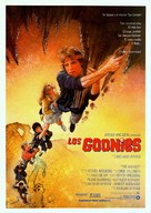 The Goonies - Spanish Movie Poster (xs thumbnail)