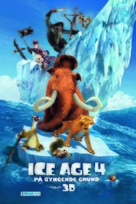 Ice Age: Continental Drift - Danish Movie Poster (xs thumbnail)
