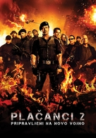 The Expendables 2 - Slovenian Movie Poster (xs thumbnail)