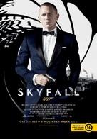 Skyfall - Hungarian Movie Poster (xs thumbnail)