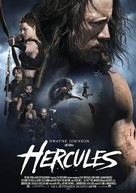 Hercules - German Movie Poster (xs thumbnail)