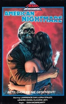 American Nightmare - German VHS movie cover (xs thumbnail)
