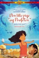 Kahlil Gibran's The Prophet - Danish Movie Poster (xs thumbnail)