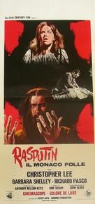 Rasputin: The Mad Monk - Italian Movie Poster (xs thumbnail)