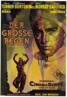 The Rains of Ranchipur - German Movie Poster (xs thumbnail)