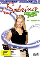 """Sabrina, the Teenage Witch"" - Australian DVD movie cover (xs thumbnail)"