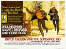 Butch Cassidy and the Sundance Kid - British Movie Poster (xs thumbnail)
