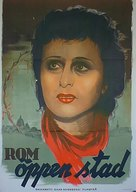 Roma, città aperta - Swedish Movie Poster (xs thumbnail)