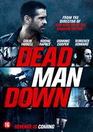 Dead Man Down - Dutch DVD cover (xs thumbnail)