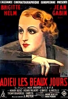 Adieu les beaux jours - French Movie Poster (xs thumbnail)