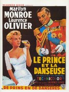 The Prince and the Showgirl - Belgian Movie Poster (xs thumbnail)