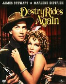 Destry Rides Again - DVD cover (xs thumbnail)
