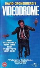 Videodrome - British VHS movie cover (xs thumbnail)