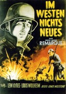 All Quiet on the Western Front - German Movie Poster (xs thumbnail)