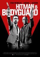 The Hitman's Bodyguard - Belgian Movie Poster (xs thumbnail)