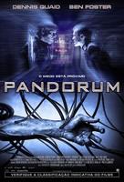 Pandorum - Brazilian Movie Poster (xs thumbnail)