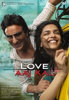 Love Aaj Kal - Indian Movie Poster (xs thumbnail)