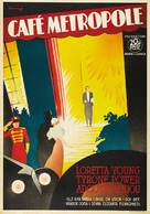 Café Metropole - Swedish Movie Poster (xs thumbnail)