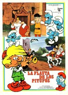 La flûte à six schtroumpfs - Spanish Movie Poster (xs thumbnail)