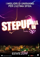 Step Up: All In - Italian Movie Poster (xs thumbnail)