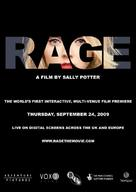 Rage - British Movie Poster (xs thumbnail)