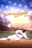 The Jackie Robinson Story - DVD cover (xs thumbnail)