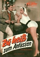 Too Hot to Handle - German poster (xs thumbnail)