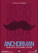 Anchorman: The Legend of Ron Burgundy - British Re-release movie poster (xs thumbnail)