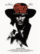 Pat Garrett & Billy the Kid - French Re-release movie poster (xs thumbnail)