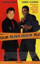Rush Hour - German Movie Poster (xs thumbnail)