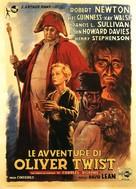 Oliver Twist - Italian Movie Poster (xs thumbnail)