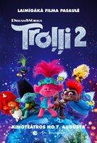 Trolls World Tour - Latvian Movie Poster (xs thumbnail)