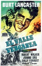 Vengeance Valley - Spanish Movie Poster (xs thumbnail)