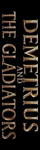 Demetrius and the Gladiators - Italian Logo (xs thumbnail)
