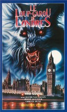 An American Werewolf in London - French VHS movie cover (xs thumbnail)