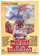 The Muppet Movie - Spanish Movie Poster (xs thumbnail)