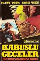 5 bambole per la luna d'agosto - Turkish Movie Cover (xs thumbnail)