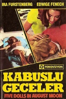 5 bambole per la luna d'agosto - Turkish Movie Cover (xs thumbnail)