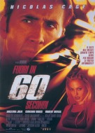 Gone In 60 Seconds - Italian Movie Poster (xs thumbnail)