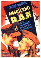 A Yank in the R.A.F. - Spanish Movie Poster (xs thumbnail)