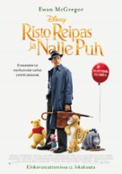 Christopher Robin - Finnish Movie Poster (xs thumbnail)