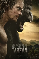 The Legend of Tarzan - Movie Poster (xs thumbnail)