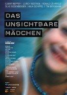 Das unsichtbare Mädchen - German Movie Poster (xs thumbnail)