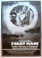 Black Moon - Swedish Movie Poster (xs thumbnail)