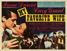 My Favorite Wife - Movie Poster (xs thumbnail)