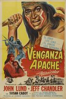 The Battle at Apache Pass - Argentinian Movie Poster (xs thumbnail)